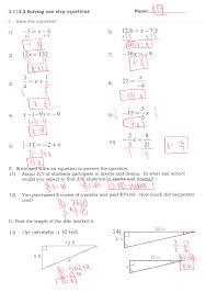 algebra 1 graphing linear equations worksheet homeshealth info