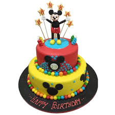 Mickey Mouse Clubhouse Cake Online Free Delivery Yummycake