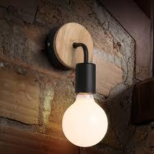 Europese Stijl Woonkamer Achtergrond Slaapkamer Bedsidewall Lamp