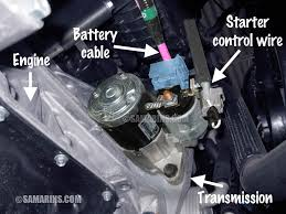 starter motor starting system how it works problems testing electric motor and the starter solenoid that is attached to the motor see the picture in most cars a starter motor is attached to the transmission