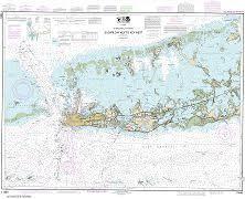 Noaa Chart 11452 Intracoastal Waterway Sugarloaf Key To Key West Noaa Chart 11446
