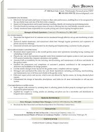 retail resume examples resume professional writers retail store manager resume examples