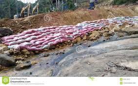Sand Bag Barrier Editorial Photography Image Of Railway
