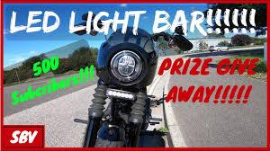 Harley Davidson Light Bar Softail Street Bob Led Light Bar Harley Davidson Fxbb Rogue Rider Industries