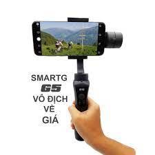 Shop bán Gimbal SmartG G5 chống rung cho Smartphone, Gopro, Gitup, Sjcam,  Eken - Đối thủ đáng gờm Zhiyun Smooth Q