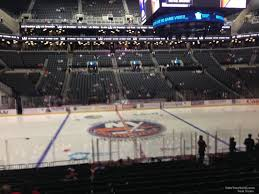 Barclays Center Section 25 New York Islanders