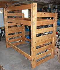 Making bunk beds Pallet Picture Of Some Assembly Required Instructables Easy Modular Pine Bunkbeds Steps with Pictures