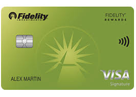 For more information, contact your american express representative. Fidelity Rewards Visa Signature Card
