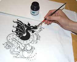 How To Design A Shirt With Paint Dragon Shirt