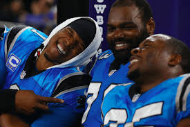 carolina panthers michael oher annoyed blind side questions  carolina panthers michael oher annoyed blind side questions before super bowl 50