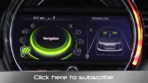 2015 <b>Mini</b> Coonnected Infotainment and Navigation System Review ...