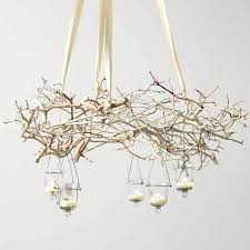 branch chandelier nature inspired tree