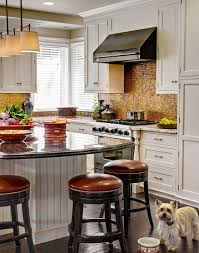 Copper Backsplash Kitchen Kitchen Copper Backsplash With Big Wooden Vase Also Dining Chair