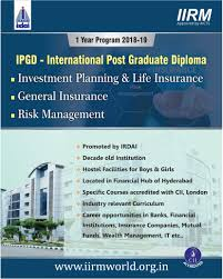 institutes for post graduate diploma in insurance and risk management pg risk image