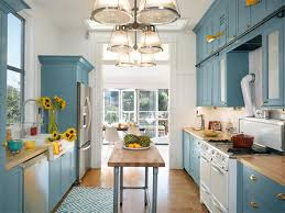 image cool kitchen. Exellent Image Bright Kitchen Opened Up To The Sun Galley Kitchen Is Now Blue And Throughout Image Cool Kitchen