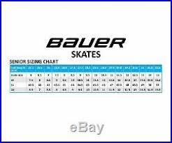 Bauer Supreme Size Chart Bauer Supreme One 6 Ice Hockey Skates Size Senior New