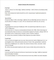 Newspaper Obituary Template 6 Newspaper Obituary Templates Doc Pdf Free Premium Templates