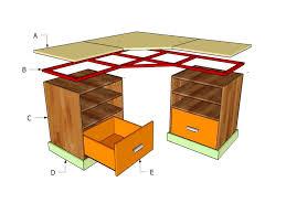 Building Plans For L Shaped Desk