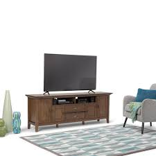 WYNDENHALL Mansfield 72-inch TV Media Stand for TV\u0027s up to 80 inches Shop