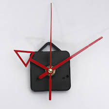 diy red hands quartz clock wall movement mechanism repair tools