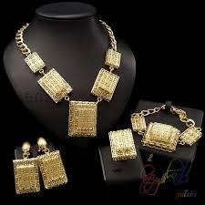 22k gold jewellery dubai high quality jewelry sets new design 2017 fashion necklace jewelry set