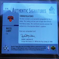Allianz global corporate & specialty is the allianz center for corporate & specialty risks. 2004 Upper Deck Sp Signatures Maciej Lampe Card As Ml