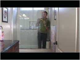 how to remove water stains from glass shower doors how to remove water stain from glass