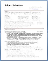 Coding Specialist Sample Resume Delectable Medical Billing And Coding Resume Creative Resume Design Templates