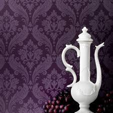 Purple Wallpaper For Bedrooms Statement Wallpaper Designs Graham Brown