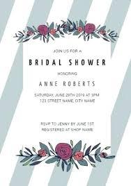 customize over bridal shower invitation templates tea invitations template microsoft word free flower stripes grey