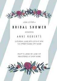 customize over bridal shower invitation templates tea invitations template microsoft word free flower stripes grey