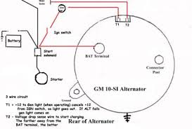 single wire alternator wiring diagram h4ufc78h dpwhh com 4 prong gm alternator questions one wire alternator wiring diagram