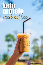 Add the liquids to the blender, then the powder and then the ice. 30g Iced Protein Coffee Thm S E Or Fp Fit Mom Journey