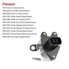 Acura Tl Brake Light Failure Sensor Vehicle Speed Sensor Vss Speed Odometer Sensor For 93 05 Acura Nsx 99 00 Tl 92 97 Honda Accord 92 95 Civic 93 95 Civic Del Sol 95 98 Odyssey 93 01