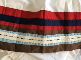large size of red and white striped crib skirt target mini blanket bedding zara yellow
