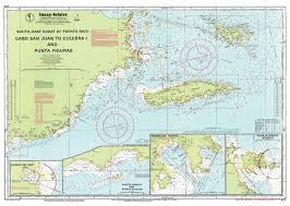 Imray Charts Caribbean Imray Nautical Chart Imray A13 Cabo San Juan To Culebra Island And Punta Figuras