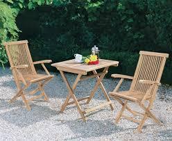 rimini teak patio garden folding table