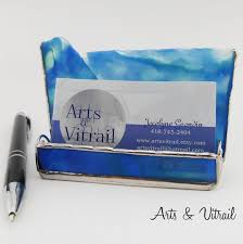 Business Cards Arts Vitrail