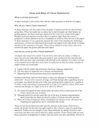 Example Of Thesis Essays 014 Example Thesis Statement For Argumentative Research