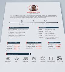 Free Cool Resume Templates Gorgeous Resume Template Cool 48 Ifest
