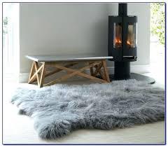 large costco sheepskin rug gray faux fur area sheepskin rug white costco grey impressive large
