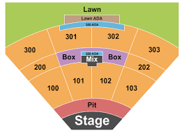 Fraze Pavilion Detailed Seating Chart 30 Extraordinary Nc Music Factory Seating Chart