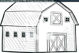 Coloring Pages Old Barn Coloring Pages Barn Coloring Pages For