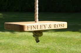 Tree Swings Engraved Garden Tree Swings Make Me Something Special