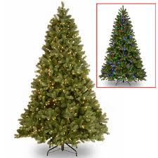 National Tree Company 412 Ft Kingswood Fir Hinged Pencil Kingswood Fir Pencil Christmas Tree