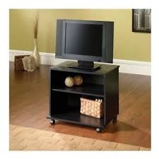 Image is loading Small-Entertainment-Center-Portable-TV-Stand-Mobile-Cart-