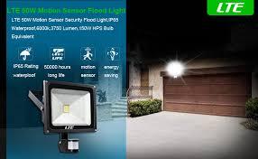 lte 50w motion sensor flood lights outdoor security floodlight inside ideas 1