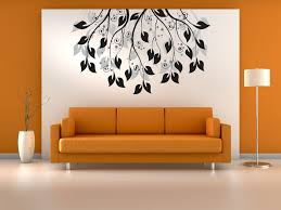 image of tree wall pictures for living room