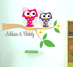 owl wall decor for baby room stickers kitchen popular owl wall decor