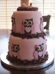 Make A Baby Shower Cakes For Girls  Baby Shower For Parents Owl Baby Shower Cakes For A Girl